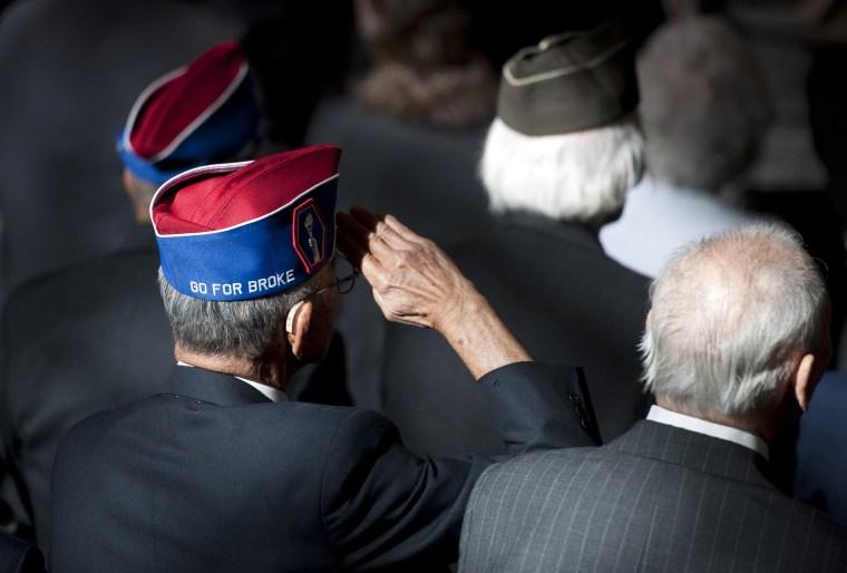 Image: Veterans of World War II