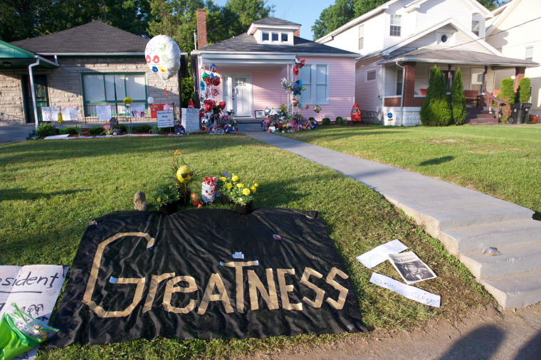 Image:  Muhammad Ali Memorial Service
