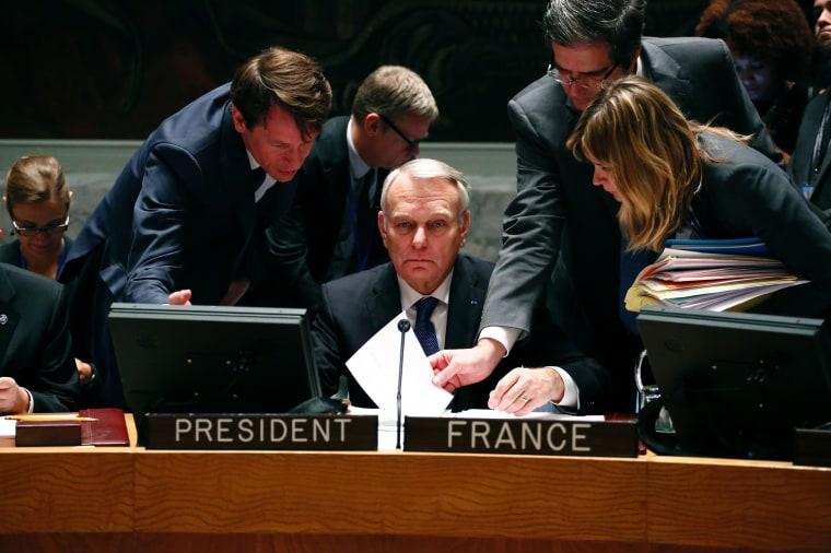 Image: TOPSHOT-UN-FRANCE-AYRAULT