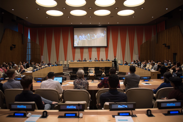 """Screening of """"Out of Iraq"""" at the United Nations"""