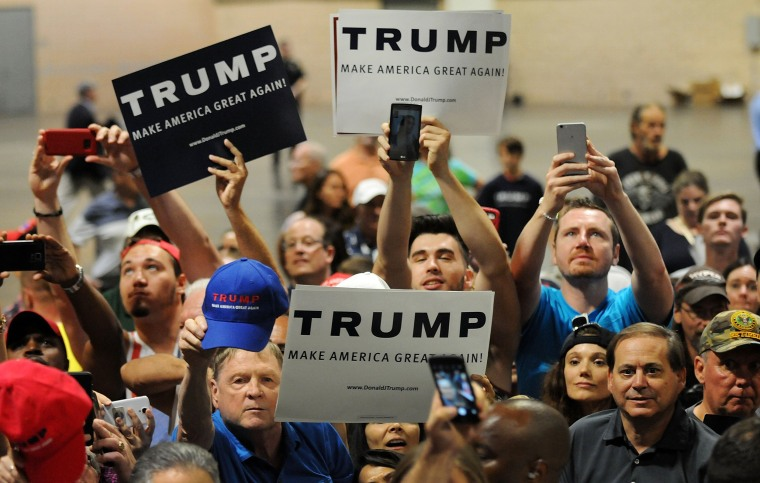 Image: Donald Trump Holds Rally In Tampa, Florida