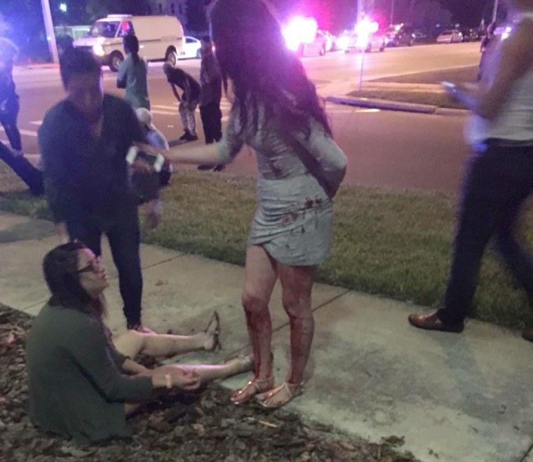Image: shooting at Pulse Nightclub in Orlando