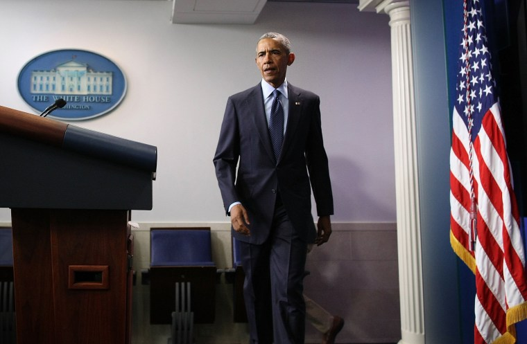 Image: President Obama Makes Statement On Mass Shooting In Orlando At White House
