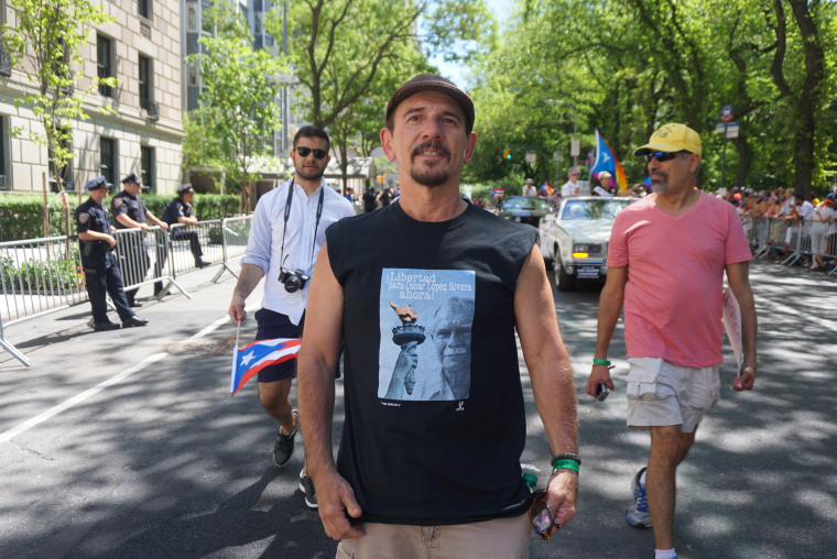 Ricardo Jim?nez, a former political prisoner and openly gay Puerto Rican man