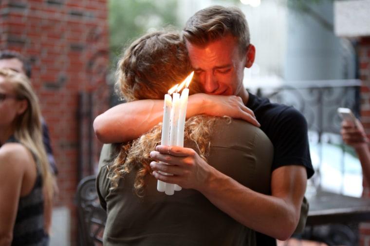 Image: Ember candlelight vigil