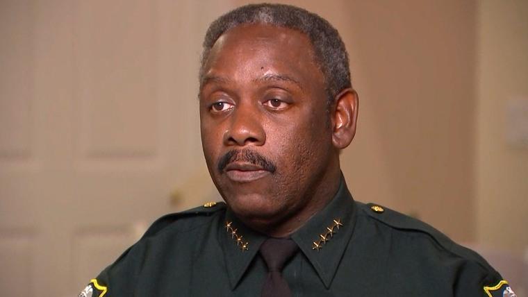 Orange county sheriff Jerry Demmings