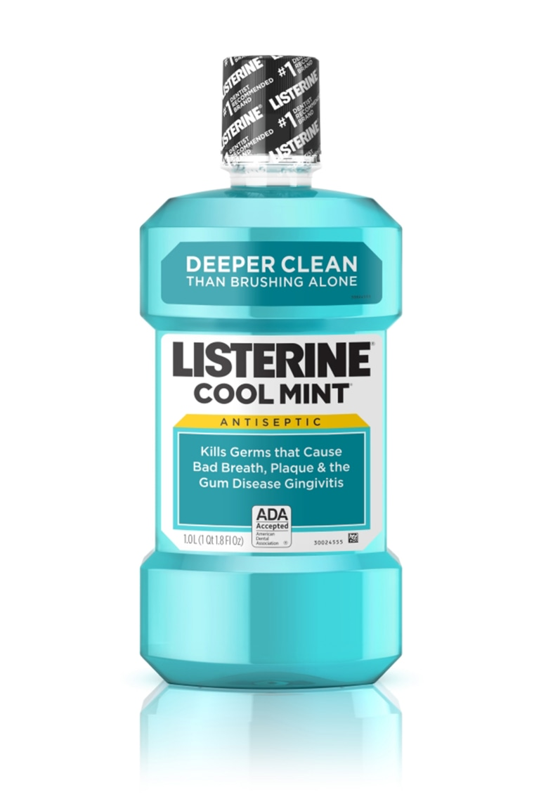 COOL MINT LISTERINE(R) Antiseptic Mouthwash