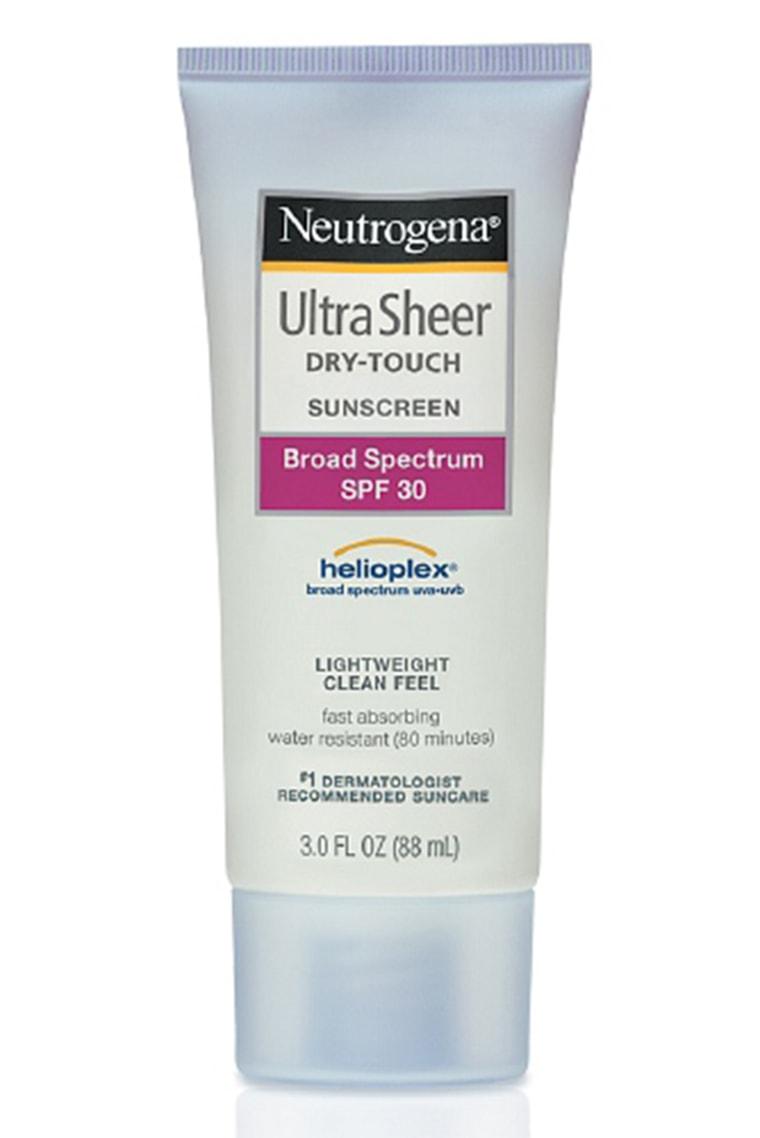 Neutrogena Ultra Sheer Dry-Touch Sunscreen for Body, SPF 30