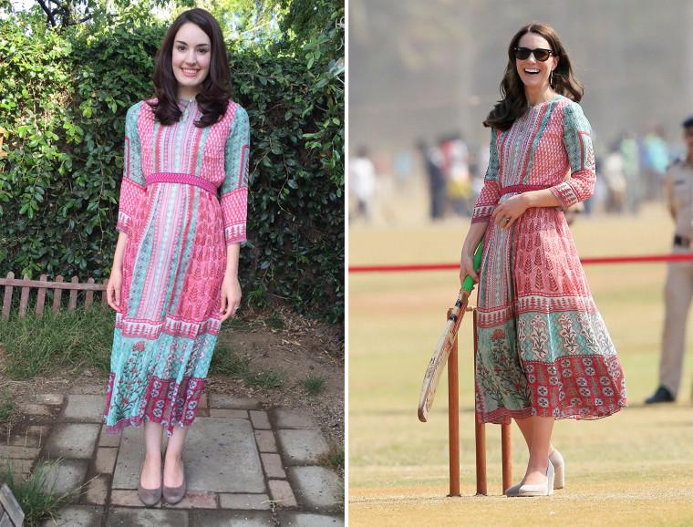 Kate Middleton Look-alike, Amanda Bell.