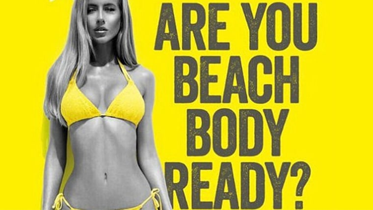 Beach body ready ad for Protein World last spring prompted outrage