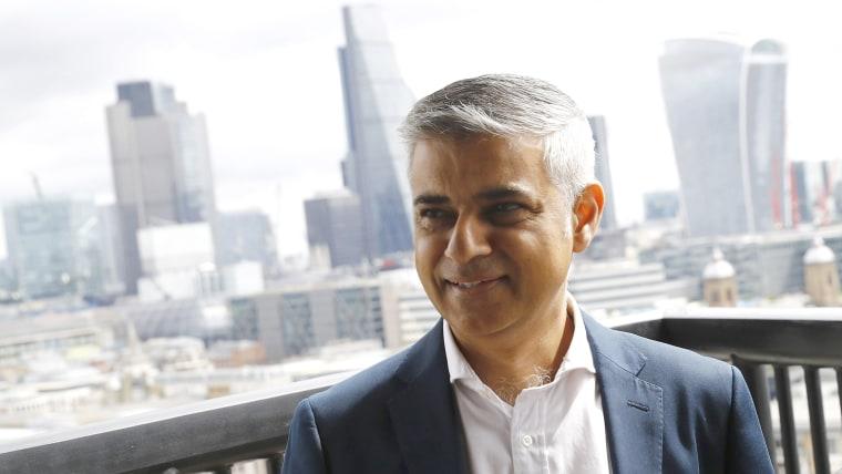 Image: Mayor of London Sadiq Khan