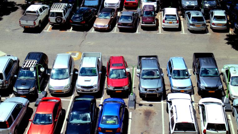 Cars, Parking lot