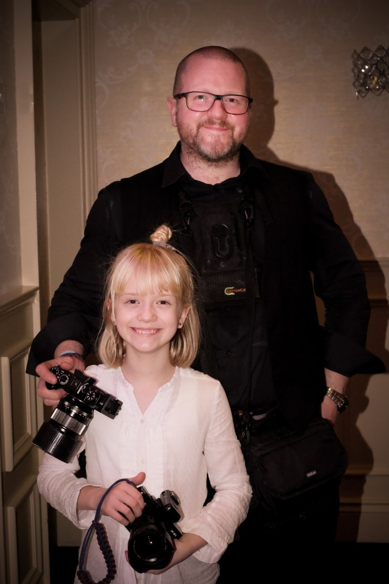 9-year-old Regina Wyllie is an in-demand wedding photographer