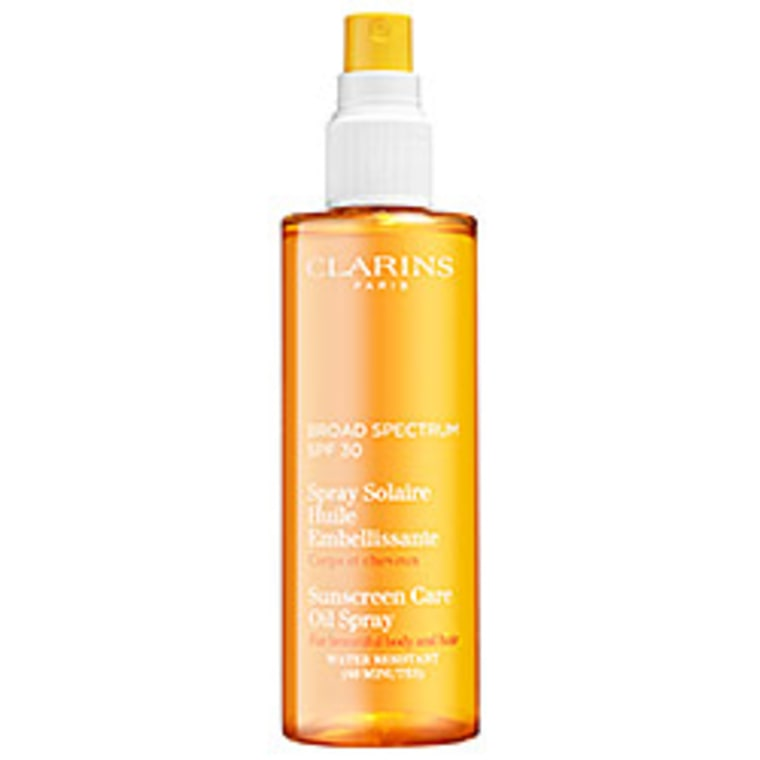Clarins Sunscreen Care Oil Spray Broad