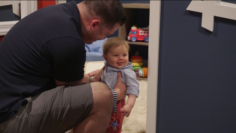 """""""Declan's one of those babies where people can't get enough of his behavior, his demeanor, his disposition,"""" Cosgrove said."""