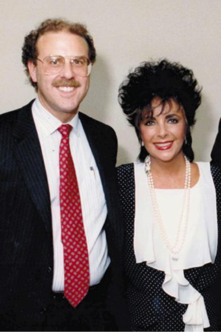 Dr. Gottlieb with Elizabeth Taylor