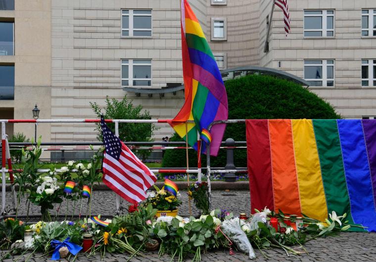 Image: GERMANY-US-ATTACKS-GAY