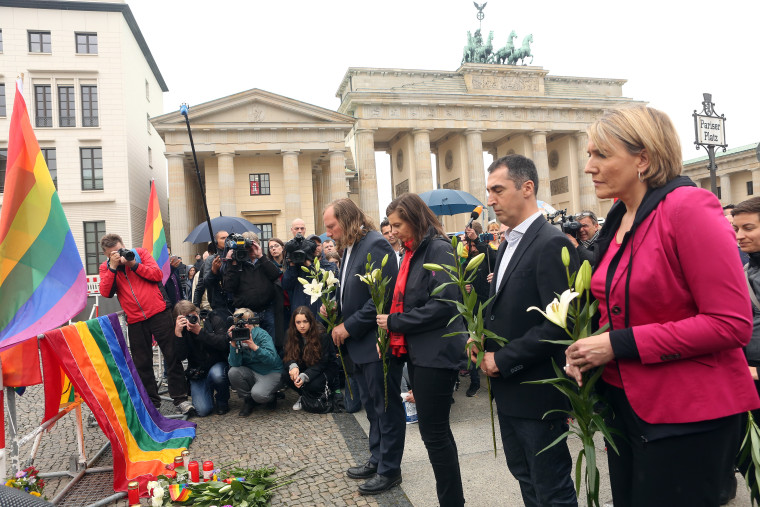 Berlin Commemorates Orlando Terror Victims