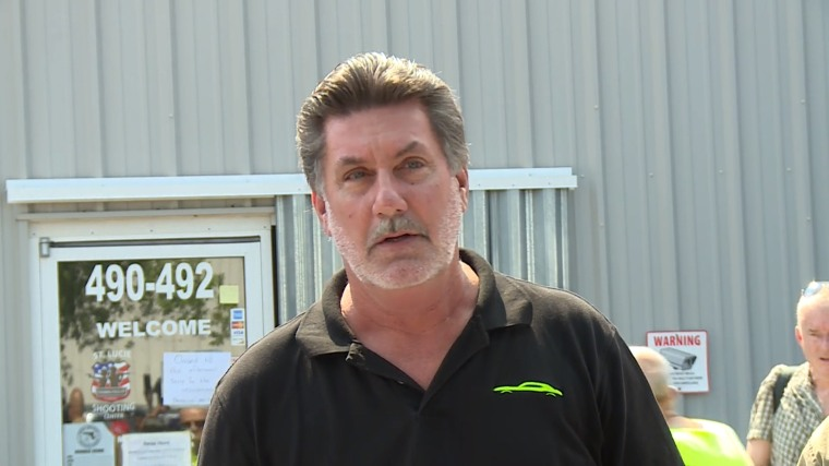 IMAGE: Ed Henson Owner of St. Lucie Gun shop