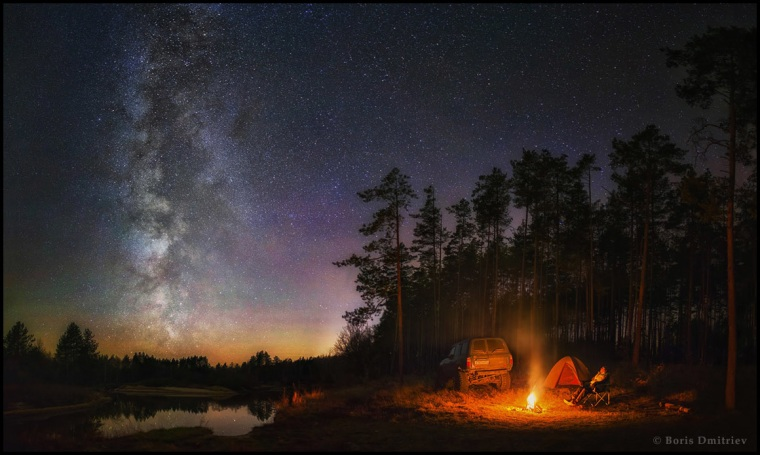 """""""Sacrament of Unification with Nature"""" is the third winner in the Beauty category by Boris Dmitriev from Russia."""