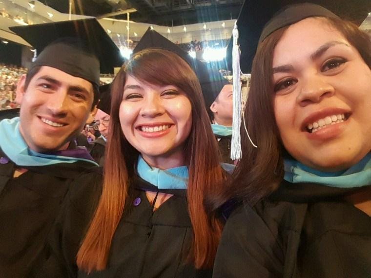 Angelica Gaona, DACA recipient and college graduate.