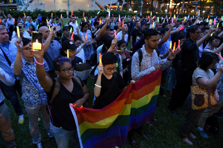 SINGAPORE-US-ATTACKS-GAY