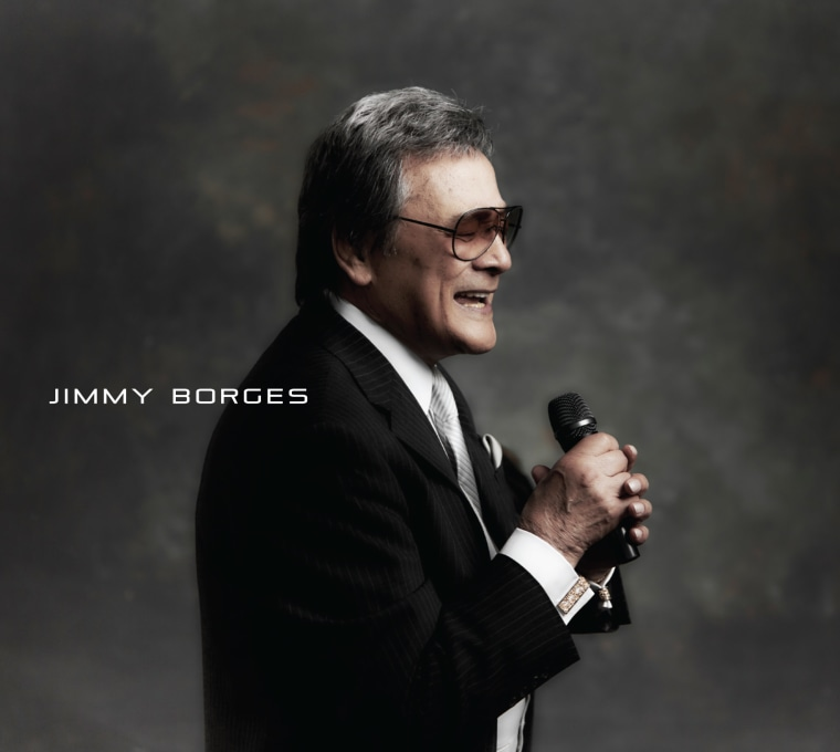 The cover of Jimmy Borges' self-titled album, which he recorded after his cancer returned.