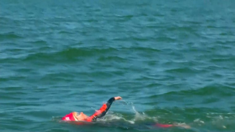 James Savage, a 9-year-old boy from Los Banos, Calif, swam through the San Francisco Bay, all the way to Alcatraz Island and back on June 14, 2016.