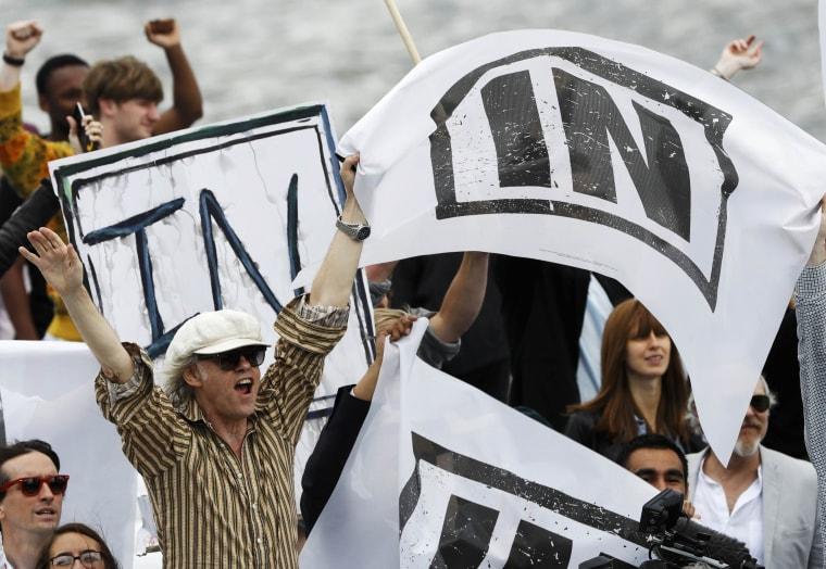 Image: Musician and campaigner Bob Geldof