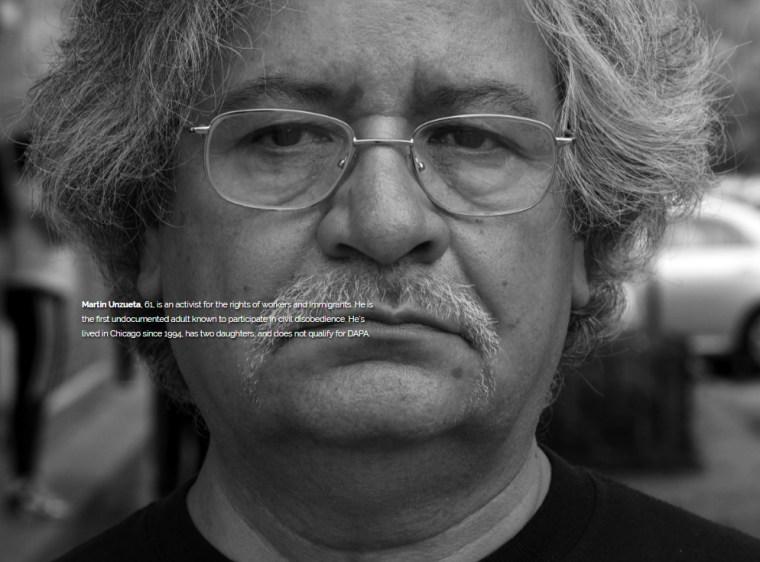Martin Unzueta, 61, does not qualify for DAPA.