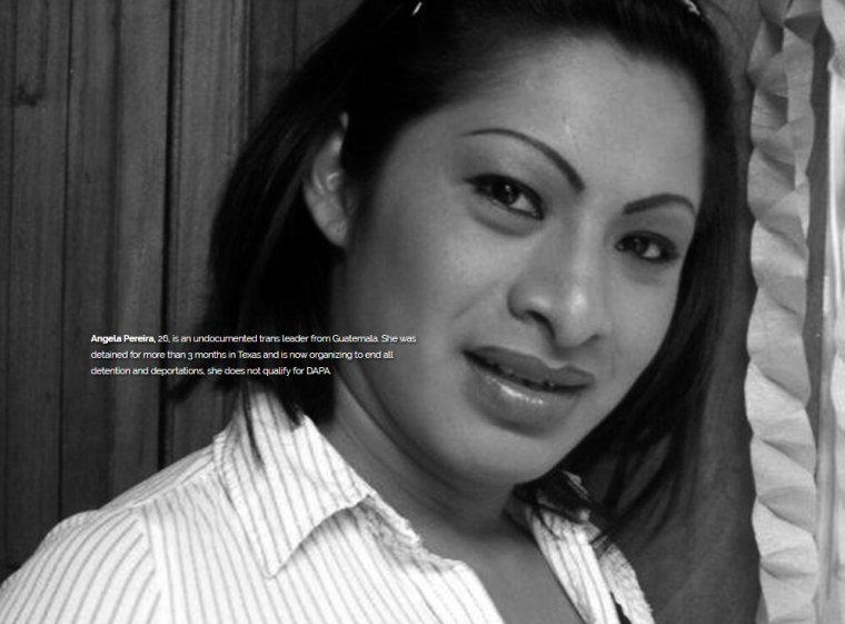 Angela Pereira, 26, does not qualify for DAPA.