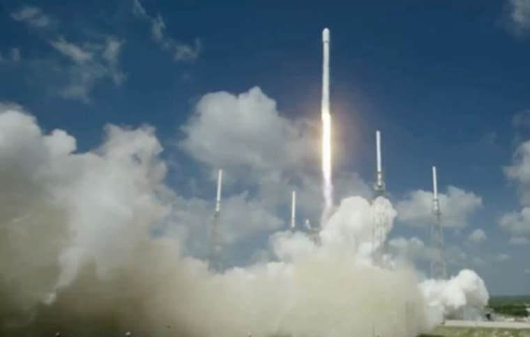 The EUTELSAT 117 West B and ABS-2A satellites were launched into geostationary transfer orbit On June 15, 2016 from Cape Canaveral Air Force Station in Florida.