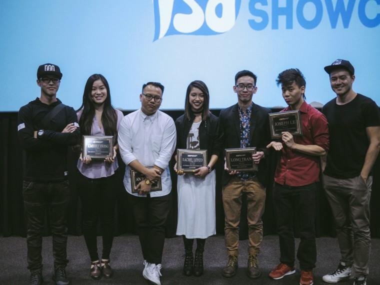 Wes Chan (of Wong Fu), Kimberly Hwang, An Rong Xu, Rachel Leyco, Long Tran, Joseph Le, and Phil Wang (Wong Fu)