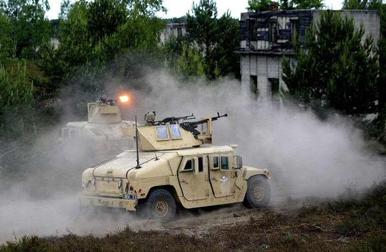 Image: Polish-led multinational exercise Anakonda 2016