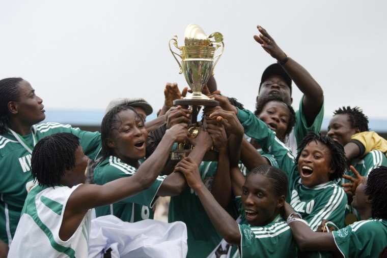 Nigerian female national team the Super