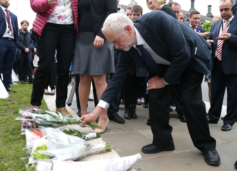 Image: BRITAIN-EU-POLITICS-SHOOTING