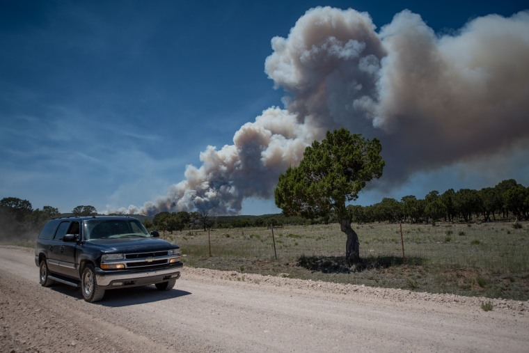 IMAGE: Dog Head Fire in New Mexico
