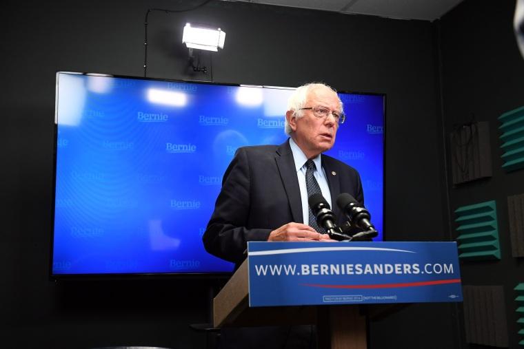 Image: Bernie Sanders - Burlington, VT