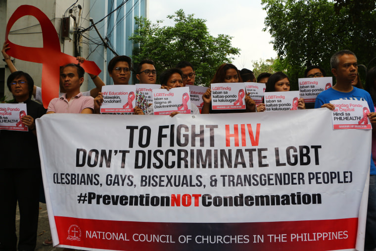 People from Living with HIV/AIDS ( PLHIVs), Lesbian, Gay,
