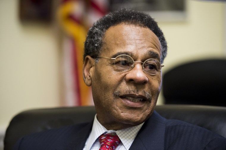 Rep. Emanuel Cleaver, D-Mo., one of two Congress members pressuring Airbnb to perform a review about racism on the app.