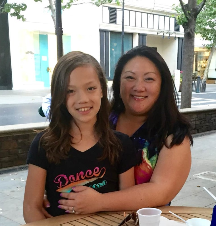 Michelle Honda-Phillips and her daughter Malisa