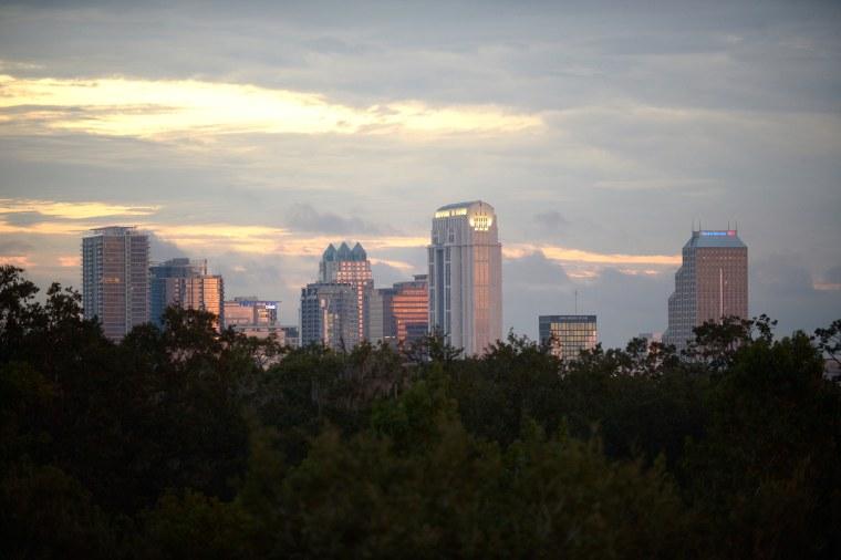 Image: Orlando's downtown skyline