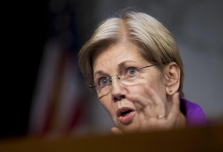 Image: Sen. Elizabeth Warren