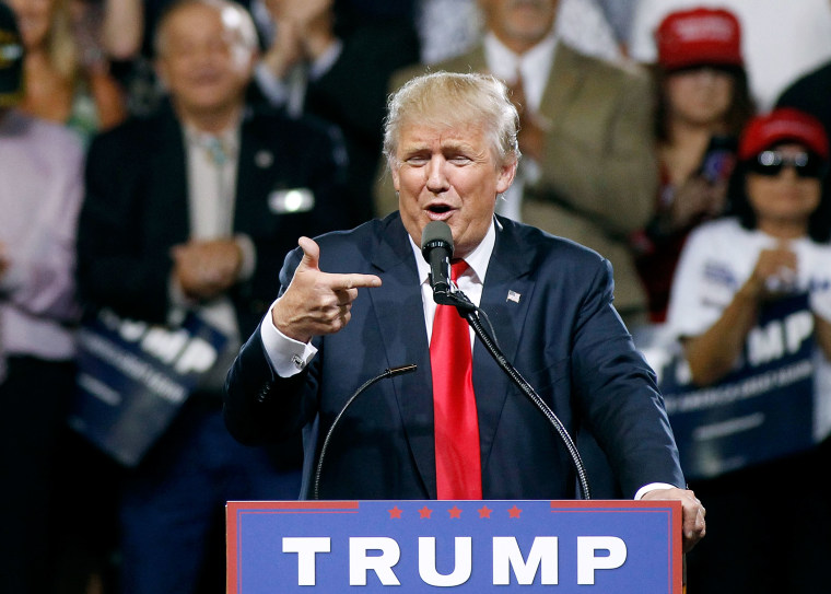 Donald Trump Holds Campaign Rally In Phoenix, Arizona