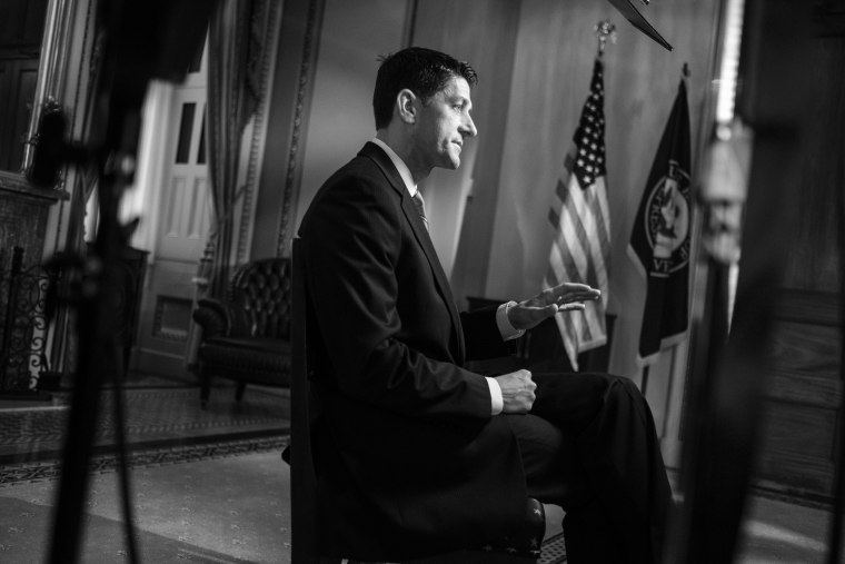 "Speaker of the House Paul Ryan sits down for a one on one interview with ""Meet the Press"" moderator Chuck Todd."