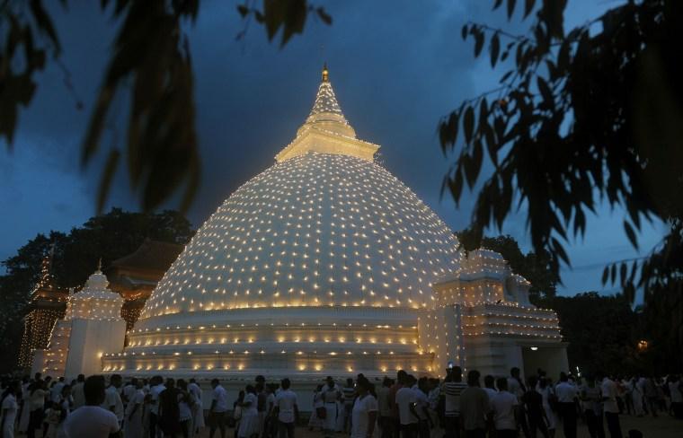 Image: SRILANKA-RELIGION-BUDDHISM