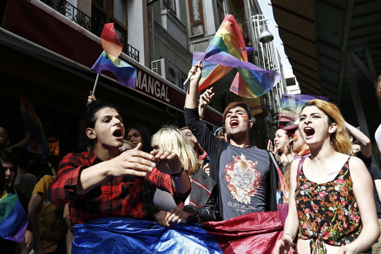 Image: Istanbul LGTB Pride Parade