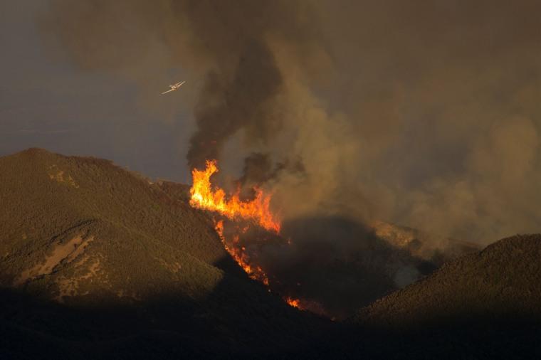 Image: US-FIRES-CALIFORNIA