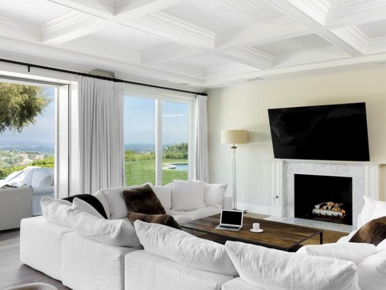 Scott Disck's living room