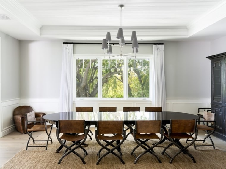 Scott Disick's dining room